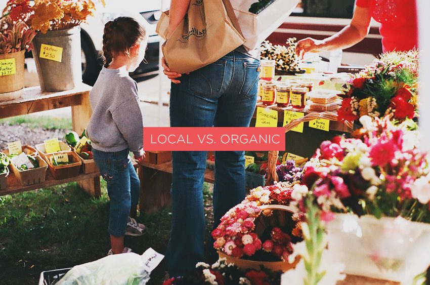 Local vs. Organic