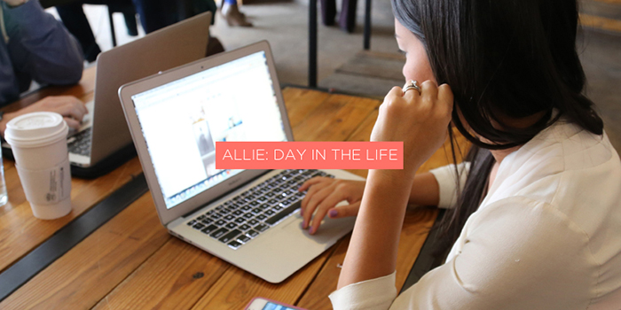 Allie: Day in the Life