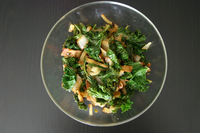 Guest Post: Megan Flynn and Jalapeno Kale with Bacon