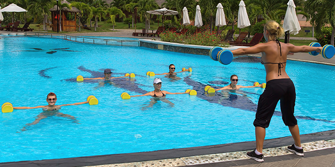 Ditch The Gym Work Out In Your Pool